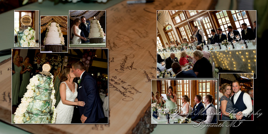 Indianwood Golf Country Club Lake Orion wedding photograph