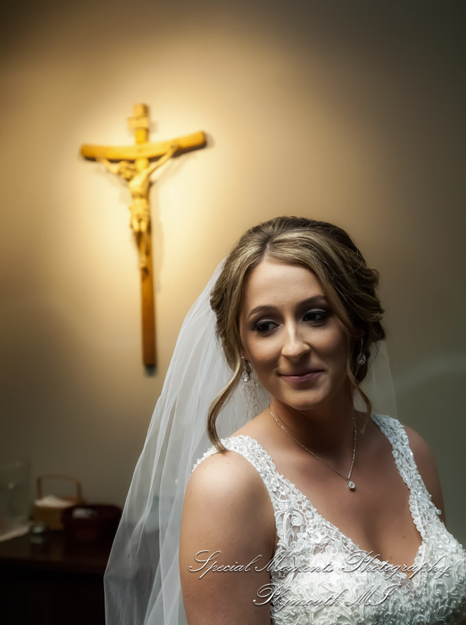 St. Kieran Catholic Shelby Twp MI wedding photograph