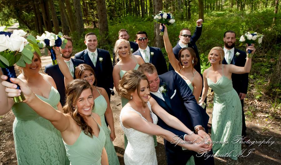 Stony Creek Metropark Utica MI wedding photograph