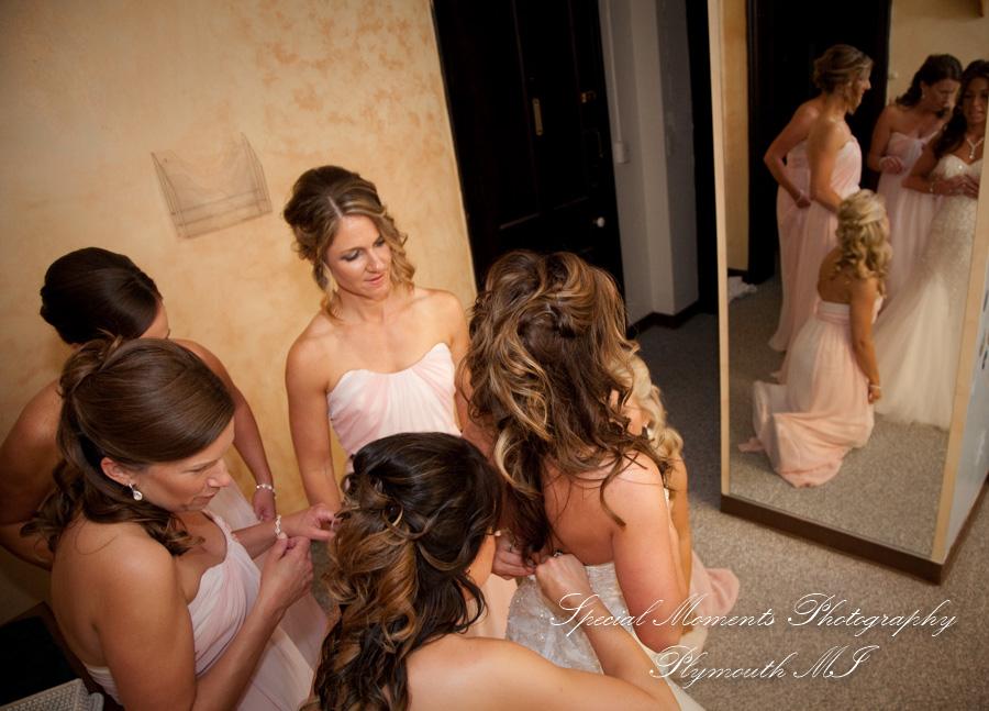 First Congregational Ann Arbor MI wedding photograph