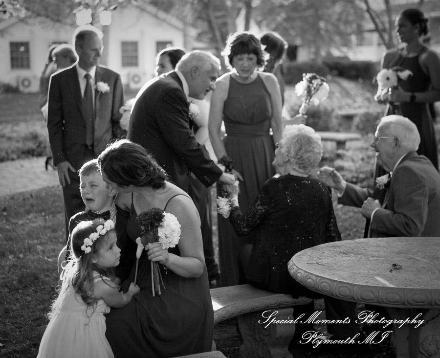 Wellers East Garden Saline MI wedding photograph