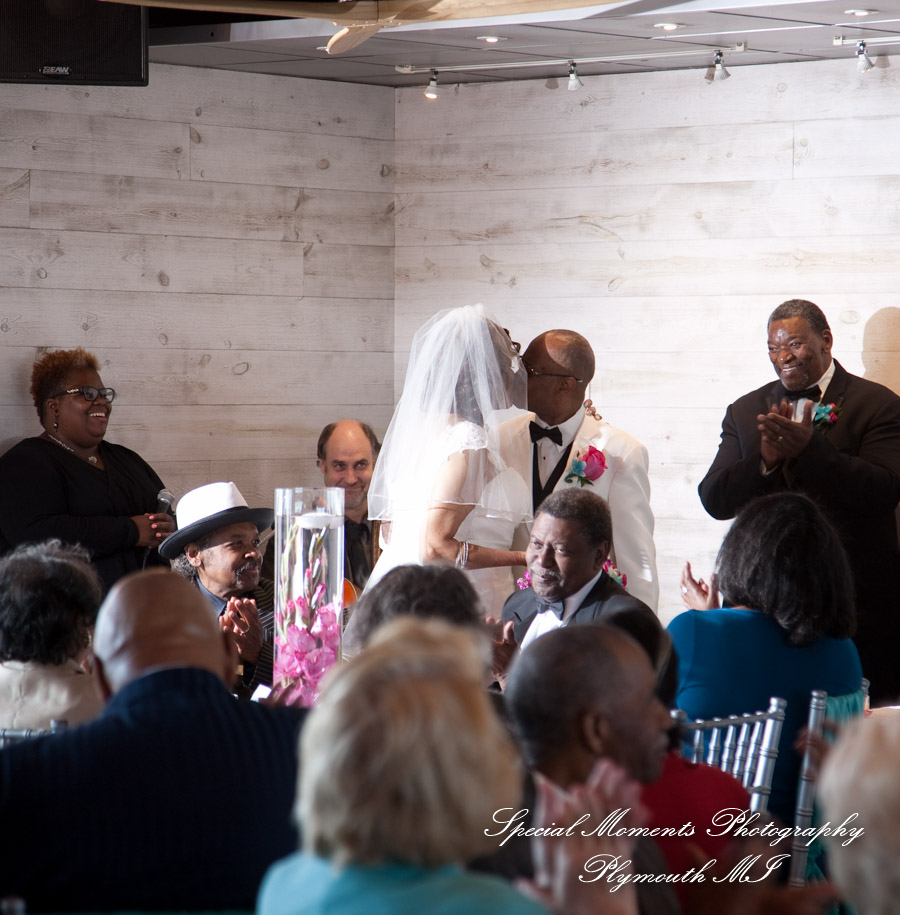 The Club Room Roostertail Detroit MI wedding photograph