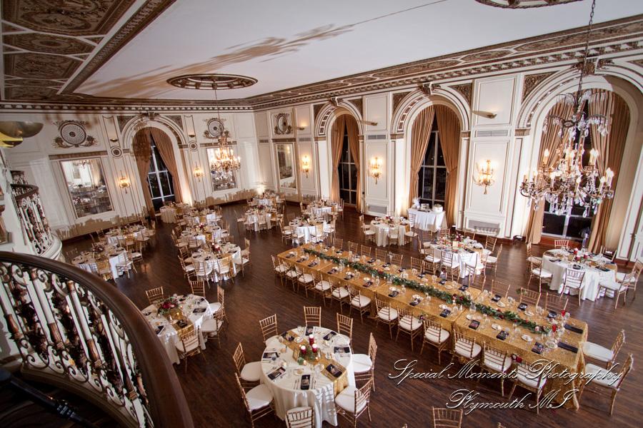 Colony Club Detroit MI wedding photograph