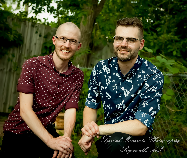 Home LGBTQ Wedding Ferndale MI wedding photograph