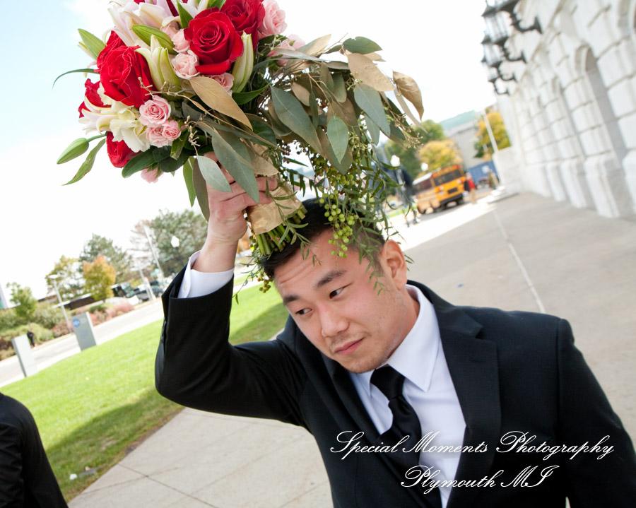 DIA Detroit MI wedding photograph