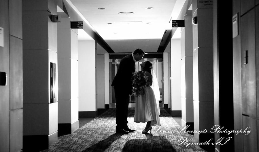 UAW-Ford National Programs Center Detroit MI wedding photograph