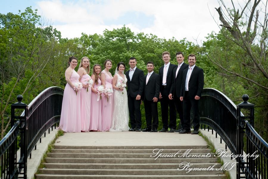 9414 Elizabeth Park Trenton MI wedding photograph