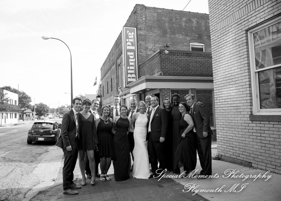 Blind Pig Ann Arbor MI wedding photograph