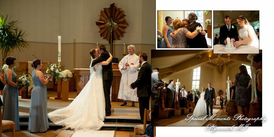 Prince of Peace Lutheran Portage MI wedding photograph Fine Art Simple Design