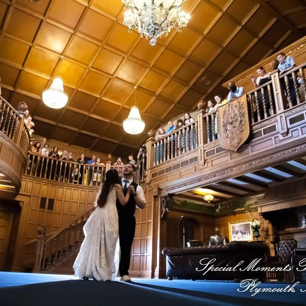Brittany & Christian's Kings Court Castle wedding in Lake Orion MI.