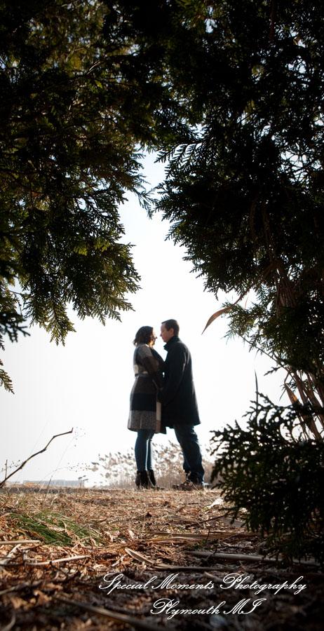 Long Park Commerce Twp. MI wedding photograph