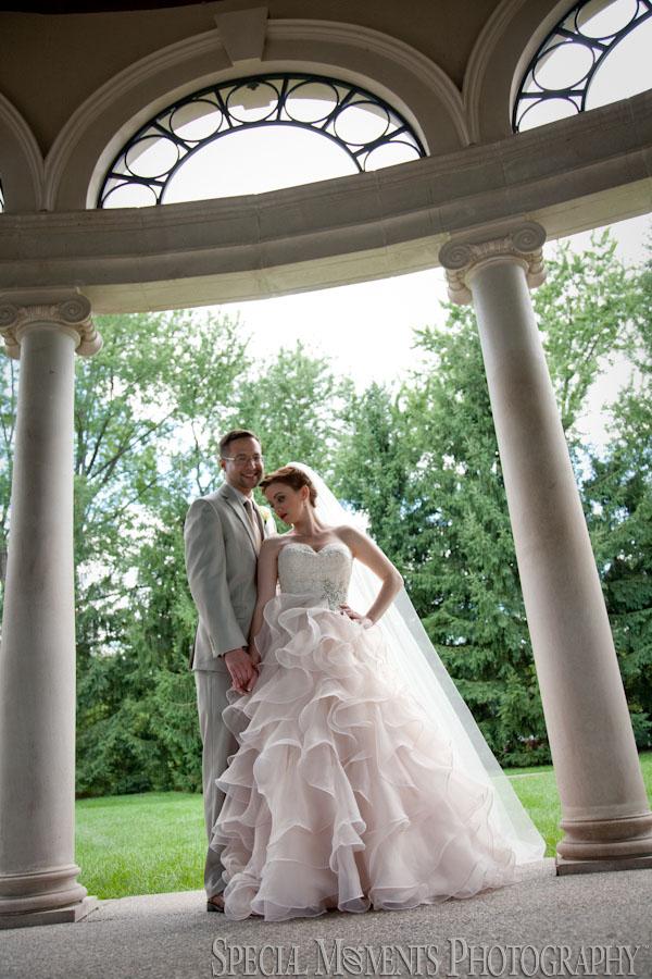 George George Memorial Park Clinton Twp. MI wedding photograph