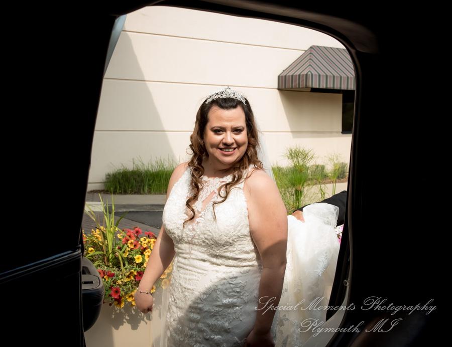 Crown Plaza Auburn Hills MI wedding photograph