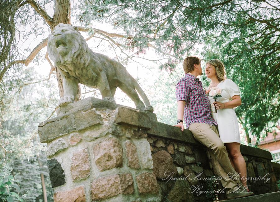 Cranbrook House & Gardens Bloomfield Hills MI wedding photograph