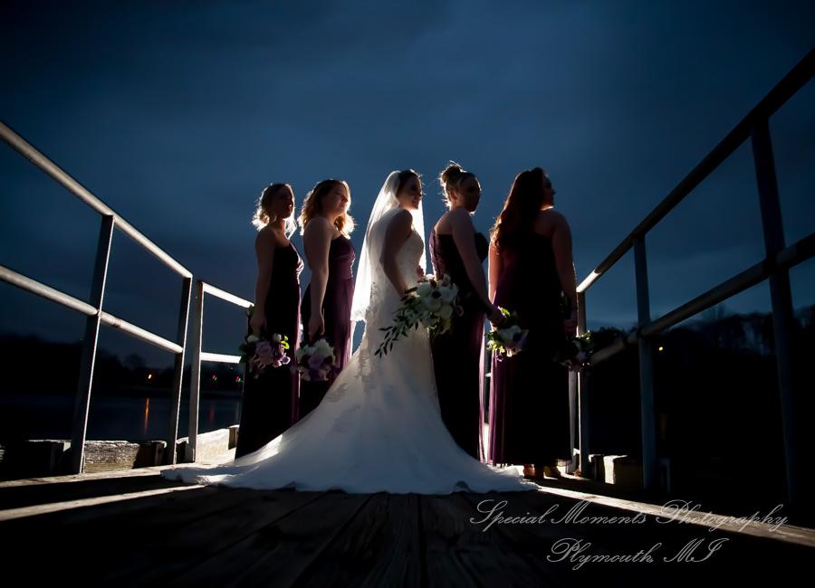 Wilcox Lake Park Plymouth MI wedding photograph