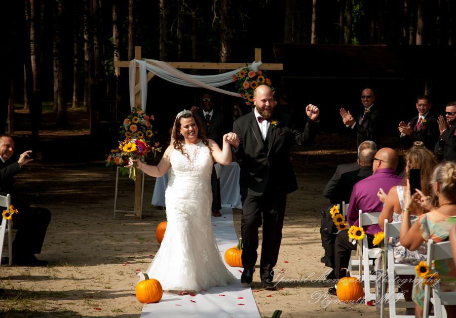 Camp Agawam Orion Twp. MI wedding photograph