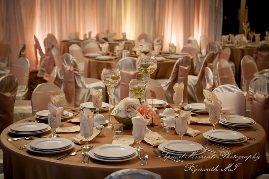 Crystal Gardens Royal Ballroom Howell MI wedding photograph