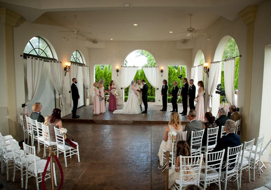 Crystal Gardens Howell Open Air Chapel MI wedding photograph